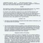 Business Management Agreement Template