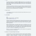 Business Service Level Agreement Template