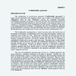 Business Understanding Confidentiality Agreement Template