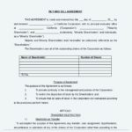 Buy and Sell Agreement Document Free