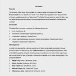 Capital Investment Agreement Template Word Document Free