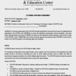 Catering Partner Agreement Template