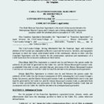 Comcast Franchise Agreement Template