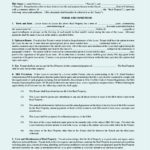 Commercial Lease Agreement Template PDF Format