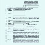 Commercial Sublease Agreement Template Free