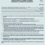 Commission Confirmation Agreement Template