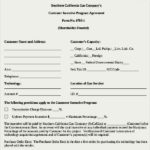 Customer Incentive Agreement Template