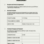 Customer Service Level Agreement Template