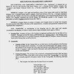 Debt Assignment Agreement Template