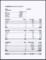Cashier Balance Sheet Template