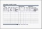 MS Excel Education Credits Tracker Template