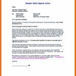 Appeal Letter Sample For Insurance Claims