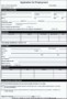 Employee Application Form Template