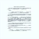 Employee Separation & General Release Agreement PDF Format