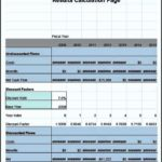 Example Of Cost Benefit Analysis Template