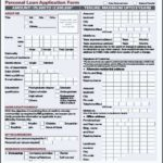 Personal Loan Application Form Template