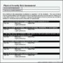 Physical Security Assessment Template