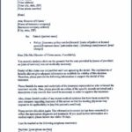 Sample Letter To Appeal A Decision