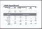 Vehicle Service Log Book Template