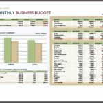 Corporate Budget Template Excel