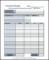 Printable Household Budget Template