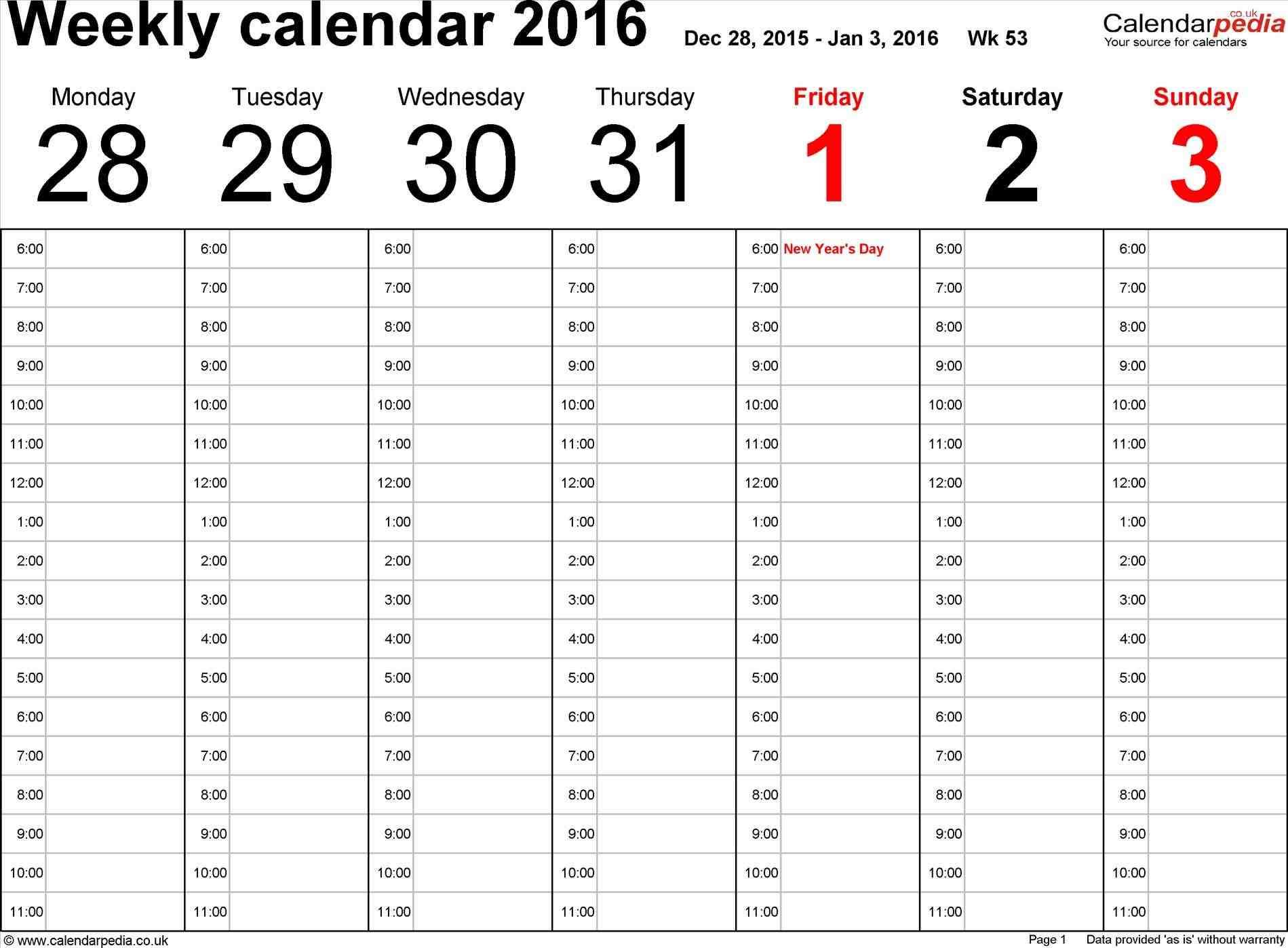 work schedule calendar maker
