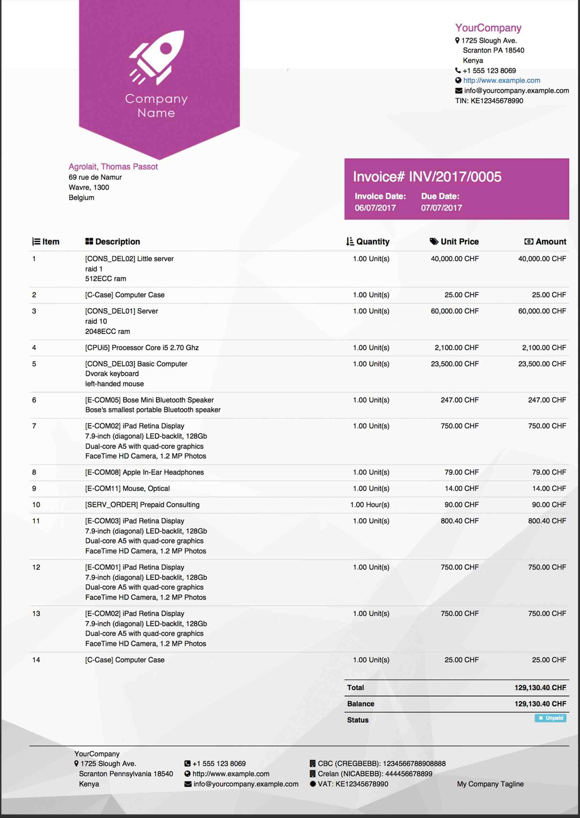 apps professional Product Price List Sales Report Template report templates odoo apps dashboard examples and klipfoliocom dashboard Product Price List