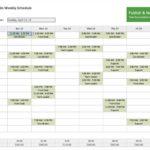 Employee Work Calendars