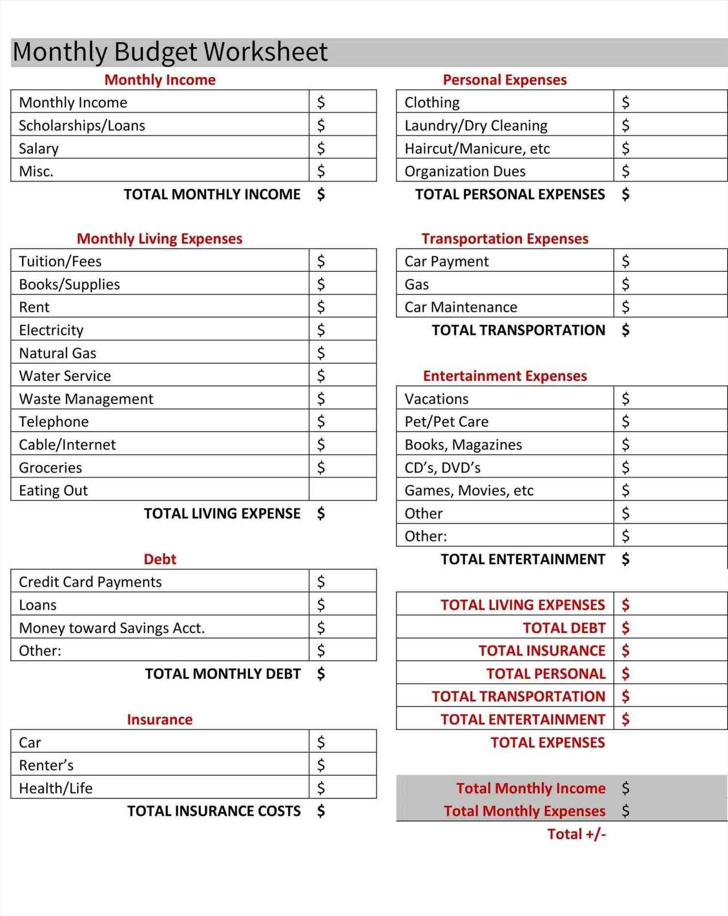 family expense calculator worksheet budget planner expenses tracker template expenses Family Monthly Expense Calculator Worksheet tracker template budgeting calculator commonpenceco