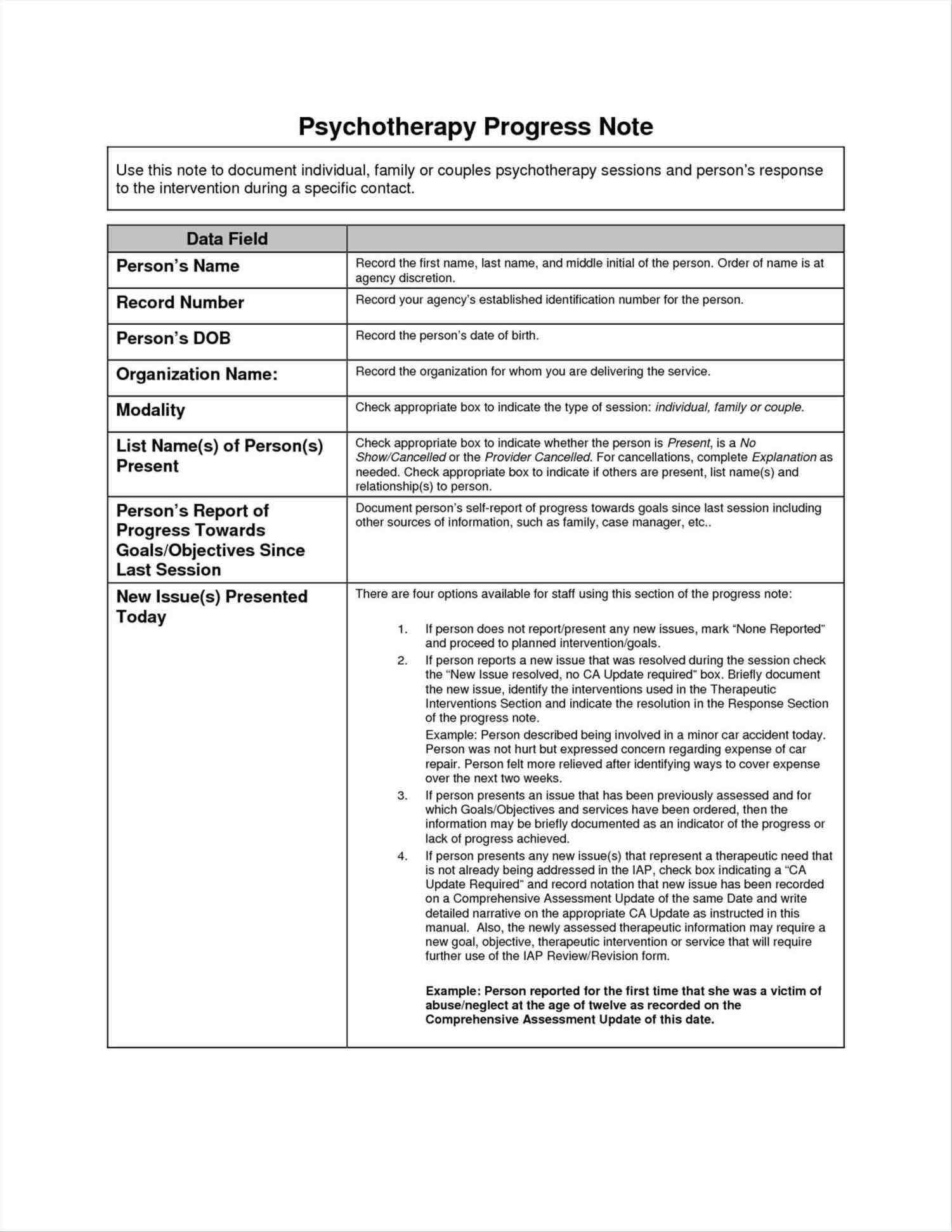 Patient Progress Note Template - Sample Templates - Sample Templates