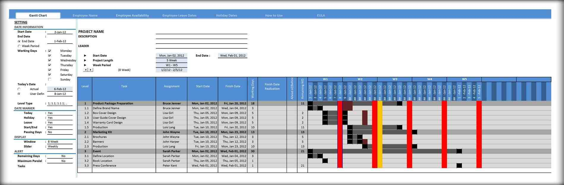 Gantt construction schedule template new project gantt chart rheccosus management plan free download and rhondyca project Project Plan Template Excel Gantt