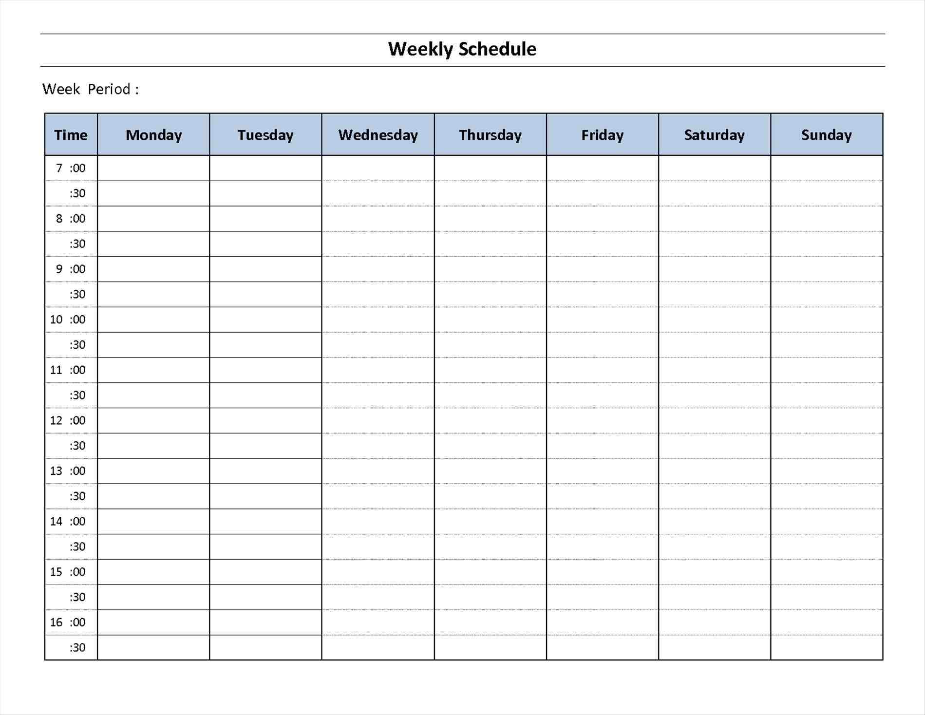 Template Excel schedule template excel projects to try pinterest rhpinterestcomau one week calendar choice image templates example rhalramiinfo one One Week