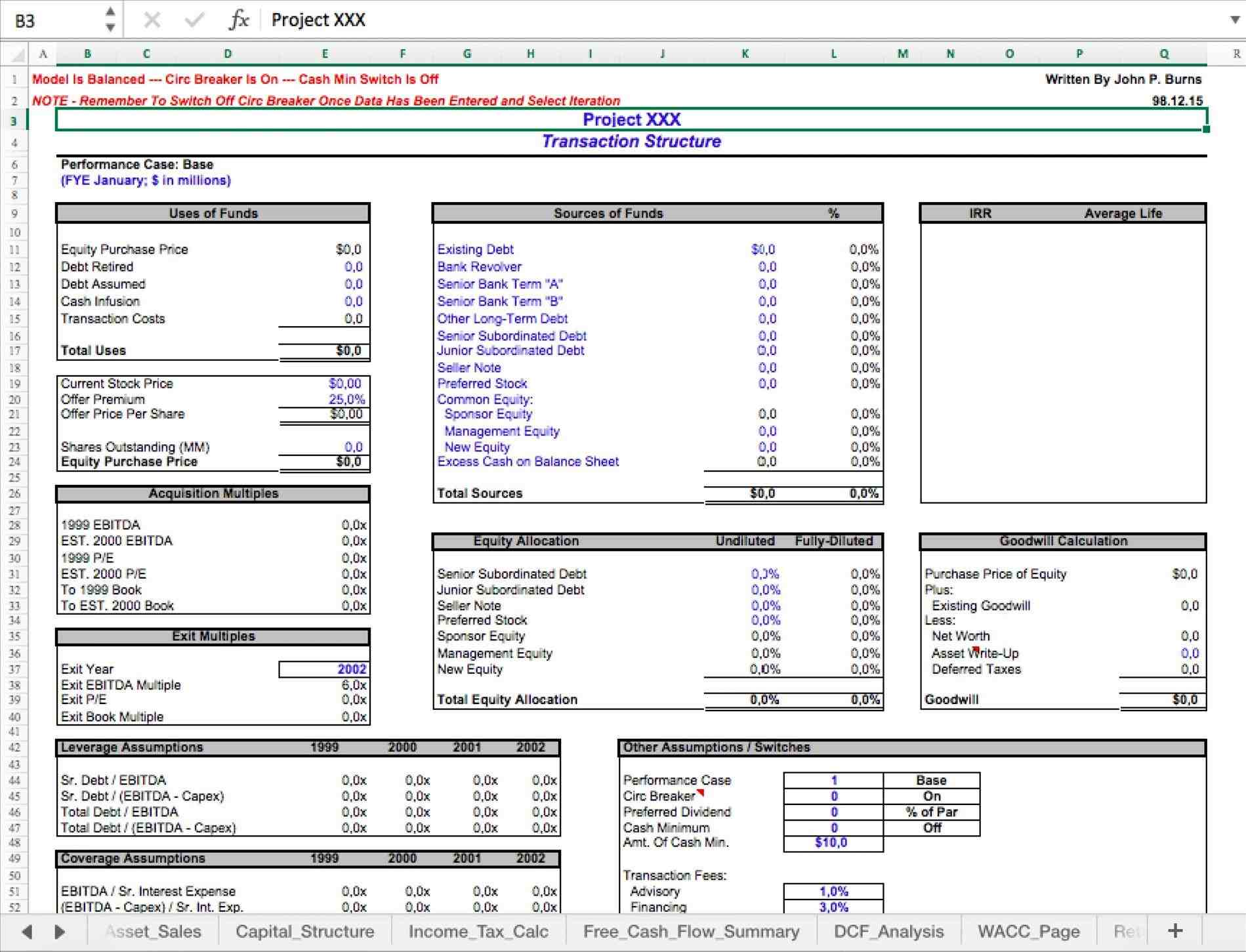 and npv rheloquenscom executive summary sheet of the updated hotel valuation based rhpinterestcom executive Discounted Cash Flow Excel Template summary sheet