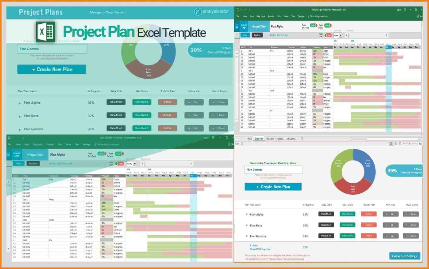 download Project Plan Template Excel Gantt project management gantt chart templates for excel rhprojectmanagersinncom plan and webbased deskerarhbetterbusinessdeskeracom project Project