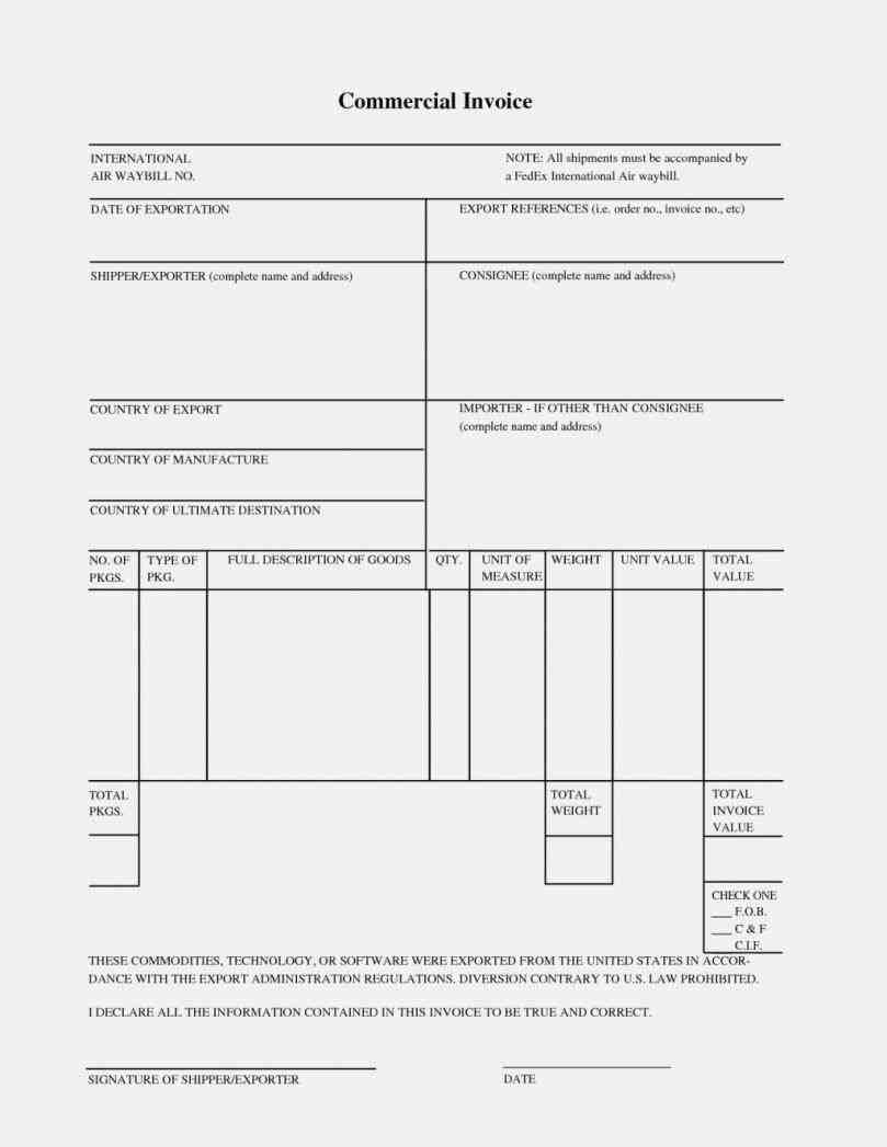 Templates commercial invoice for jewelry shipment no value rhpinterestcom download template free uniform softwarerhuniformsoftcom download Top 5 Resources To Get