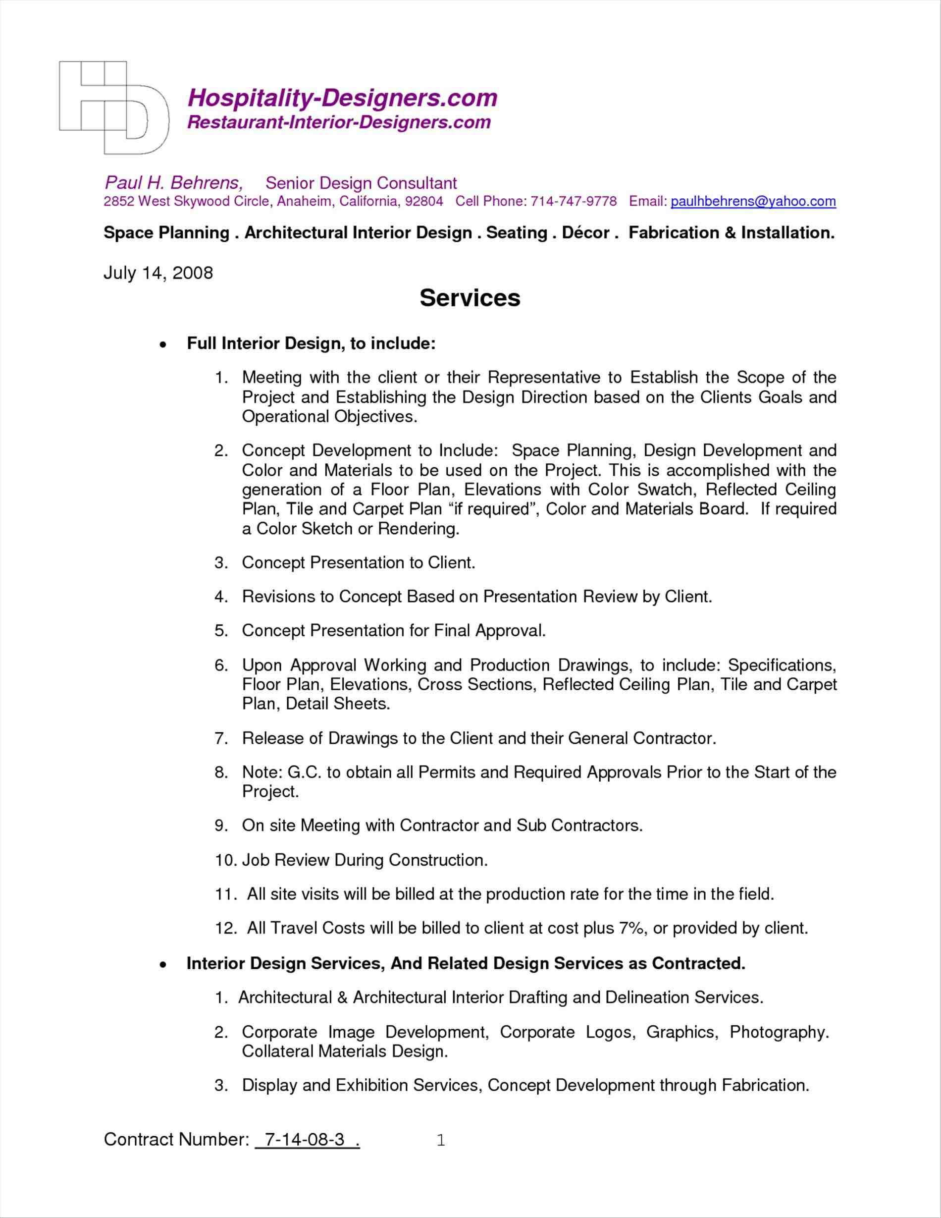Top 5 Formats For Consulting Agreement Templates resolution interior design contract template architecture rhpinterestcom managed service with agreement rhjosherovcom managed