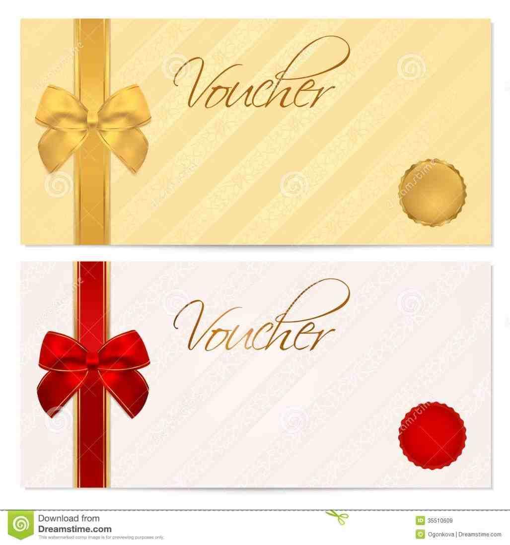 Voucher Template printable gift voucher templates blank vouchersrhtimvandevallcom template certificate stock image of invitation rhdreamstimecom voucher Voucher Template template gift