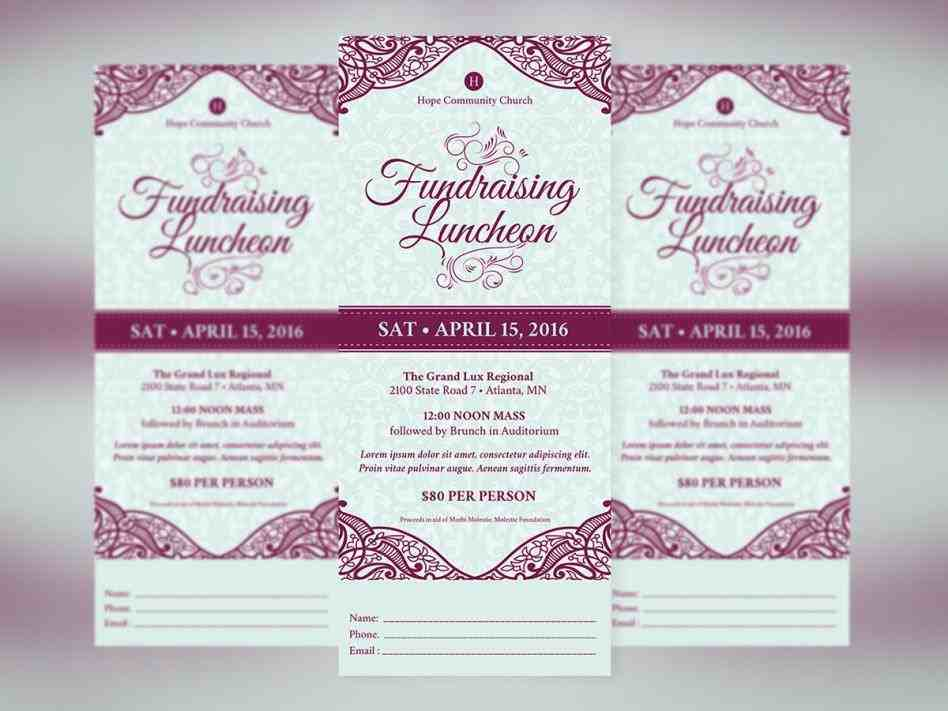Lunch Flyer Template Sample Templates Sample Templates