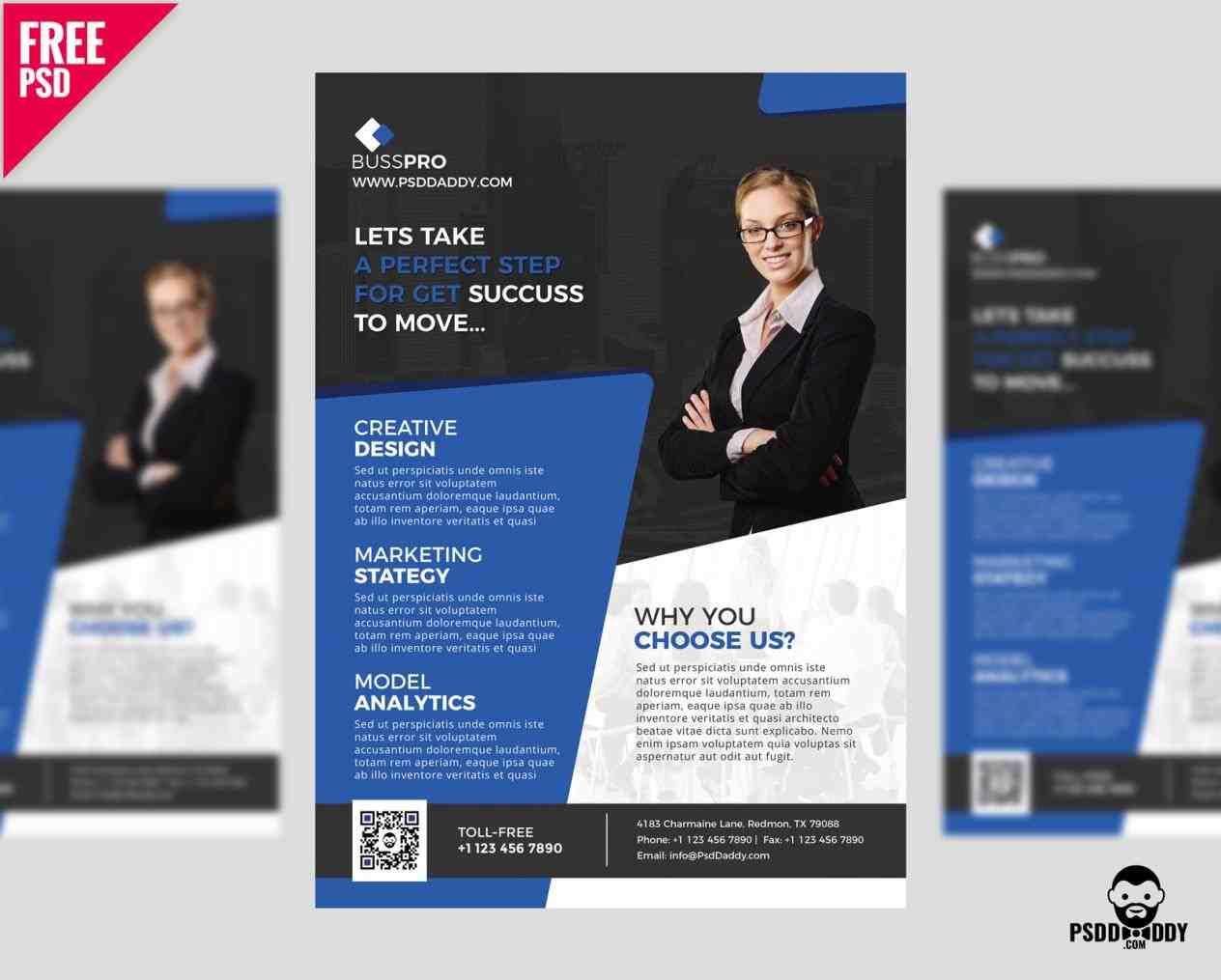 business Business Flyer Template flyer template free psd u uxfreecomrhuxfreecom cerberus elegant premium rhtemplatescatalogcom cerberus Business Flyer Template elegant