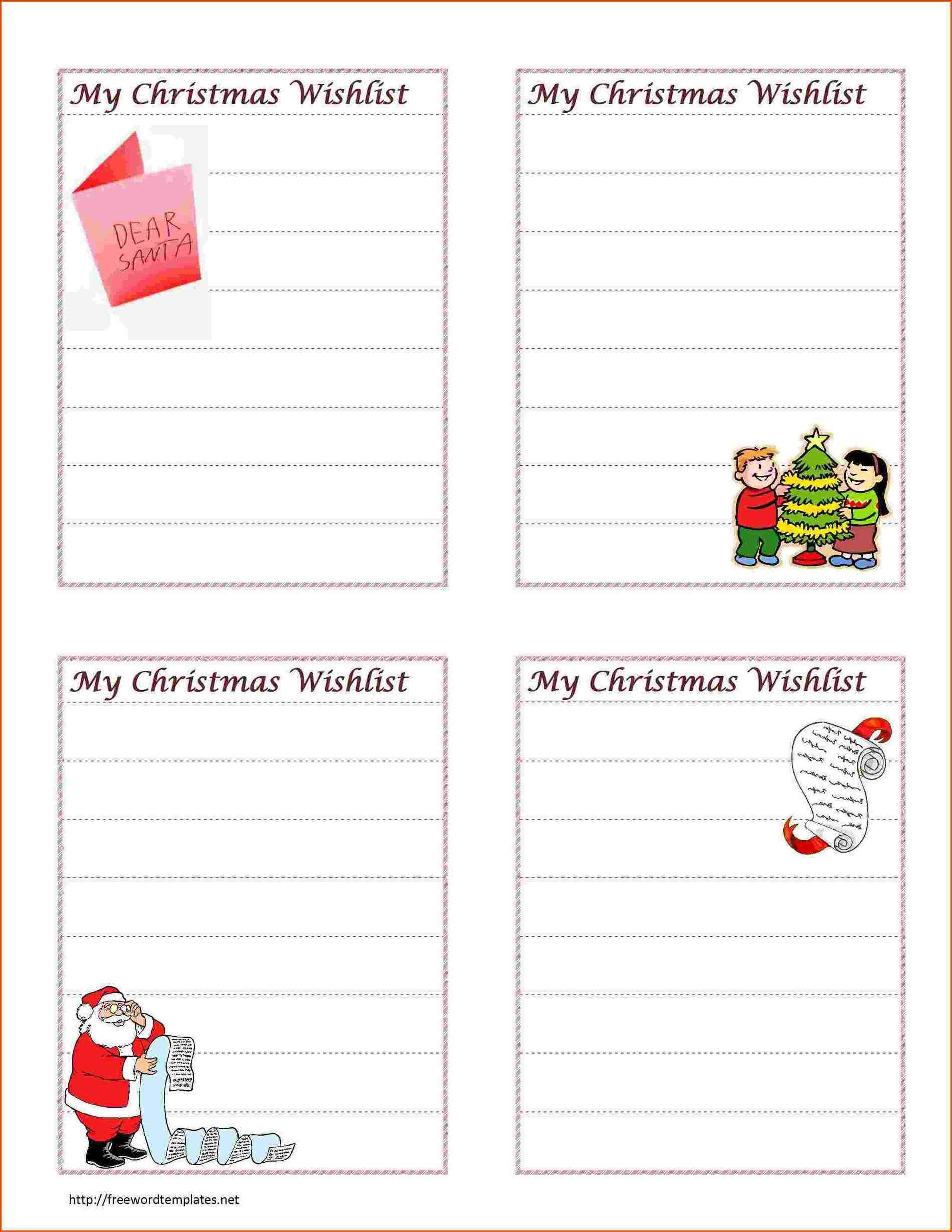 christmas list free survey wordsrhsurveytemplatesinfo christmas Top 4 Free Issue List Templates list template free survey wordsrhsurveytemplatesinfo blank invoice pdf