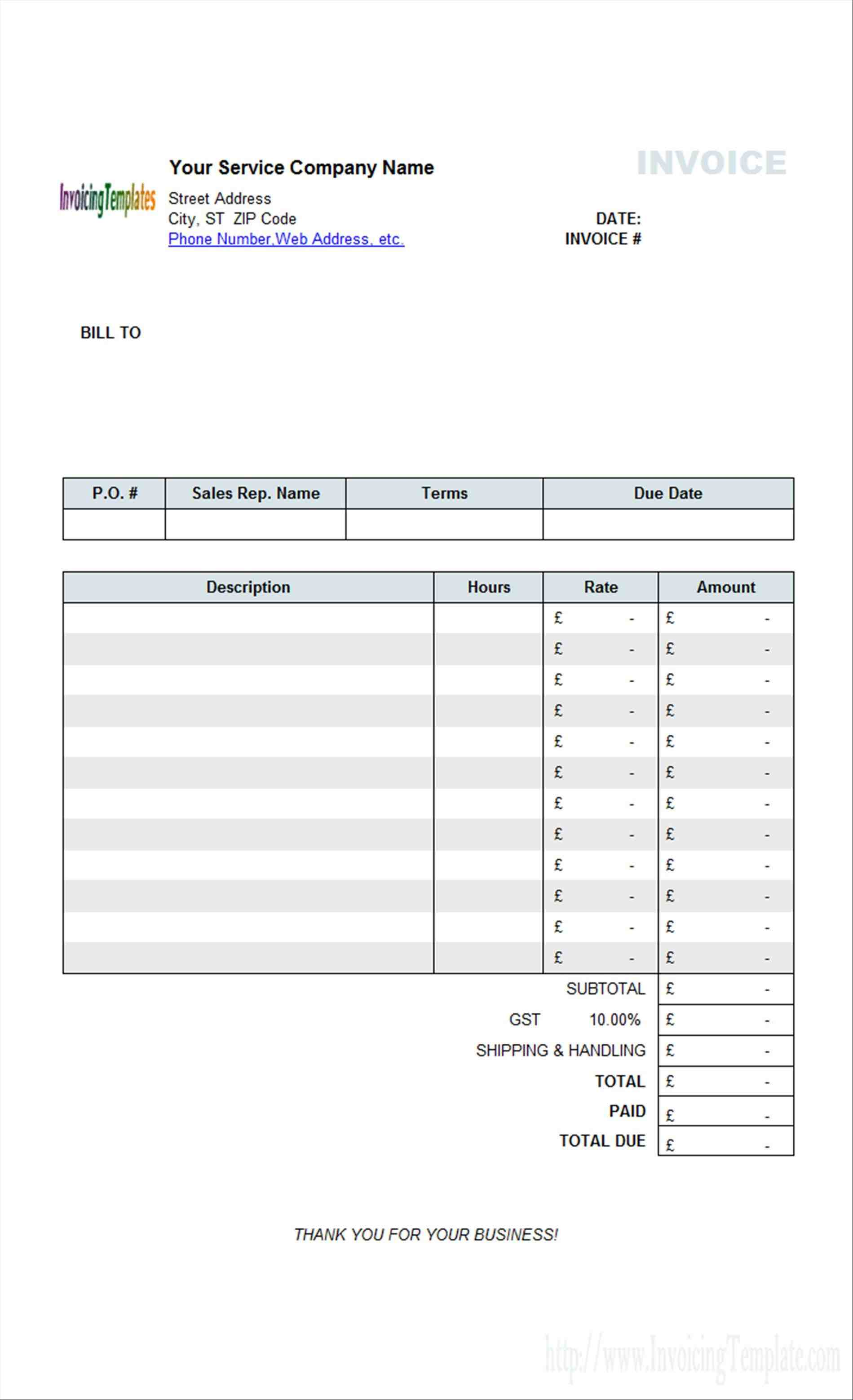 free Free invoice Template template for contractorsrhfieldpulsecom simple basic excel pdf word docrhtemplatescom free Free invoice Template simple basic template