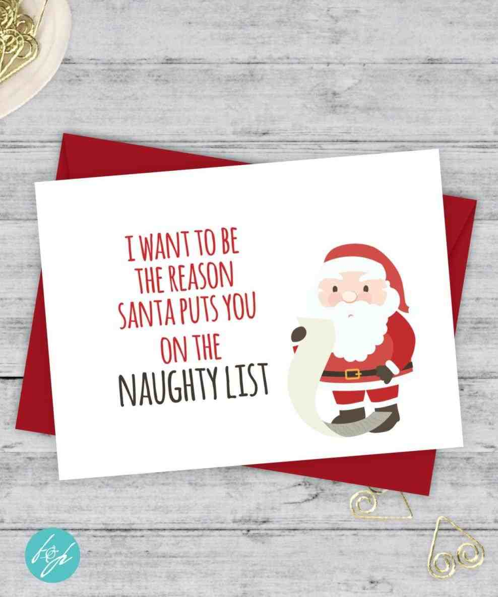 girlfriend boyfriend rhpinterestcouk free printable cards happy free Top 5 Free Christmas Card List Templates printable christmas cards happy card