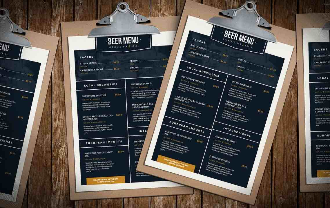 photoshop u illustrator brandpacksrhbrandpackscom restaurant stock vector art more images of rhistockphotocom restaurant Free Menu Template menu template stock vector