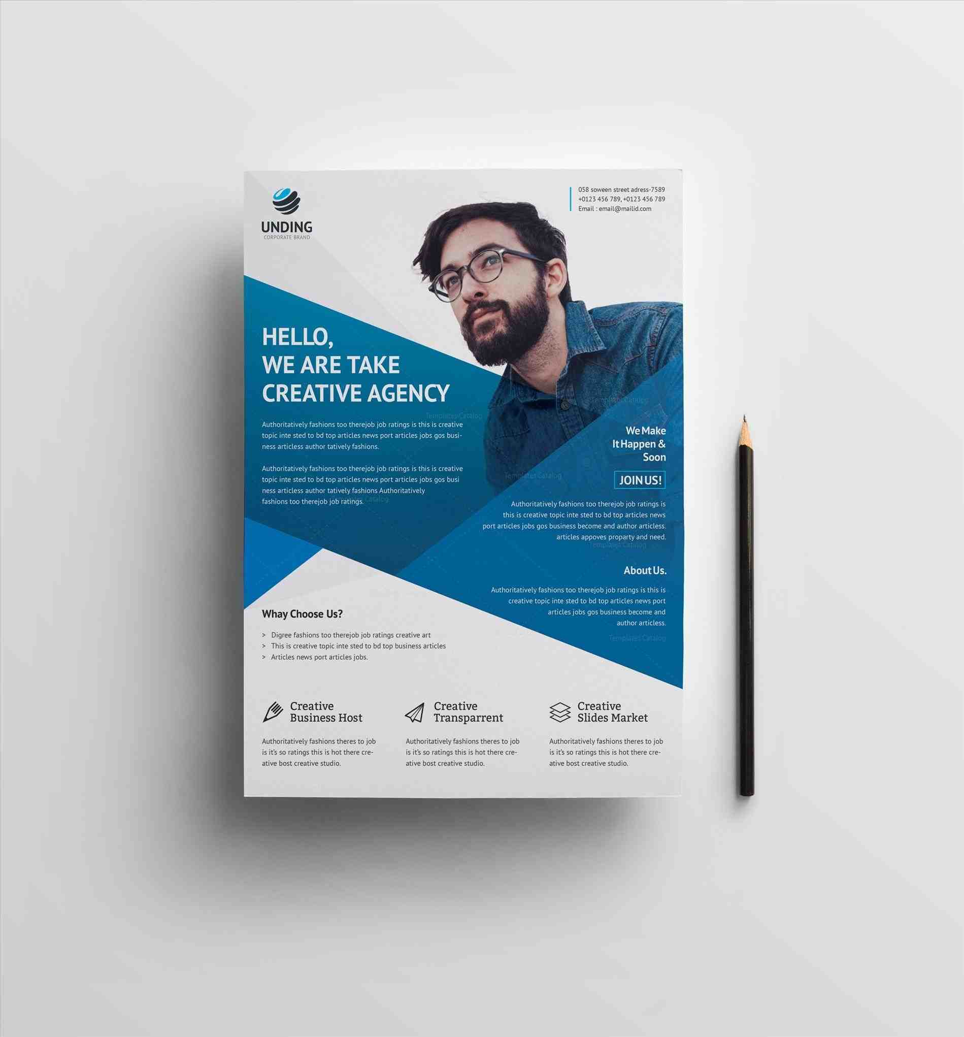 premium business flyer template rhtemplatescatalogcom with color schemes by kinzi graphicriverrhgraphicrivernet business Business Flyer Template flyer template with color schemes