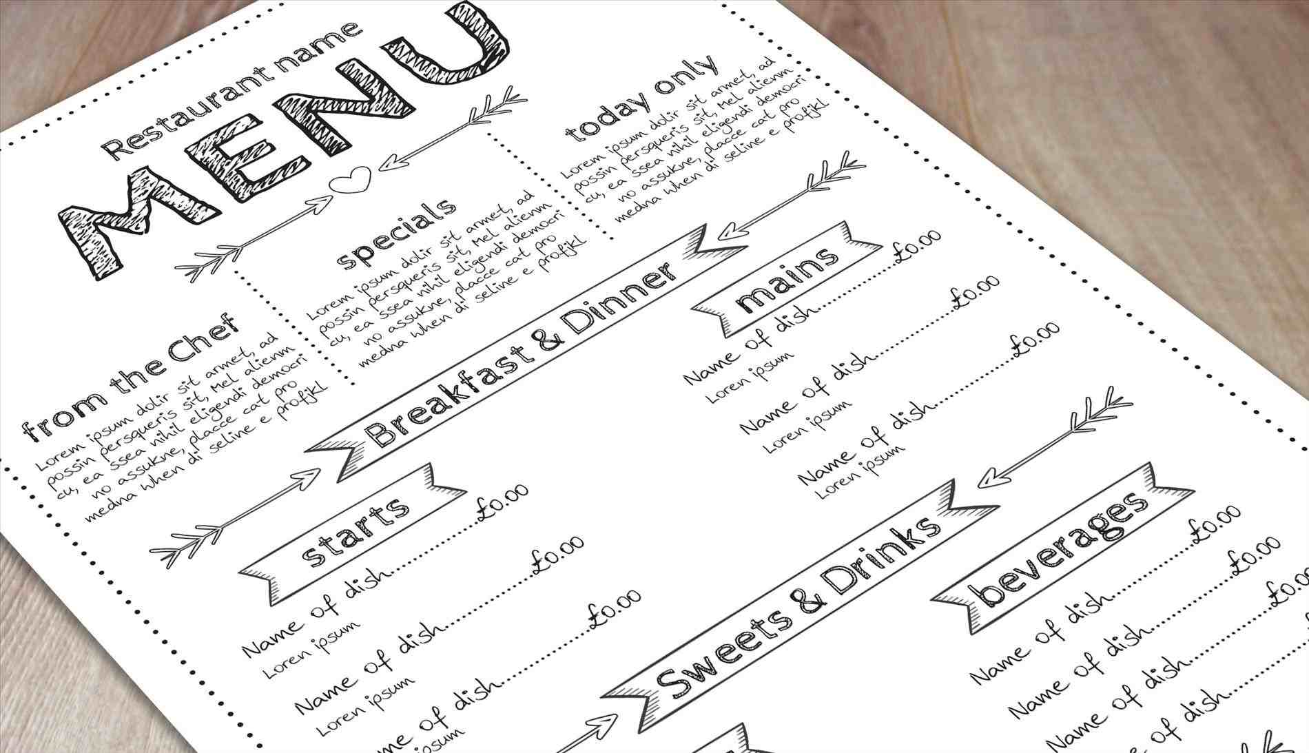 rhblogprintprintcouk get Free Menu Template the look free menu templates print and marketing blog rhblogprintprintcouk vintage food template downloadrhcgispreadcom vintage