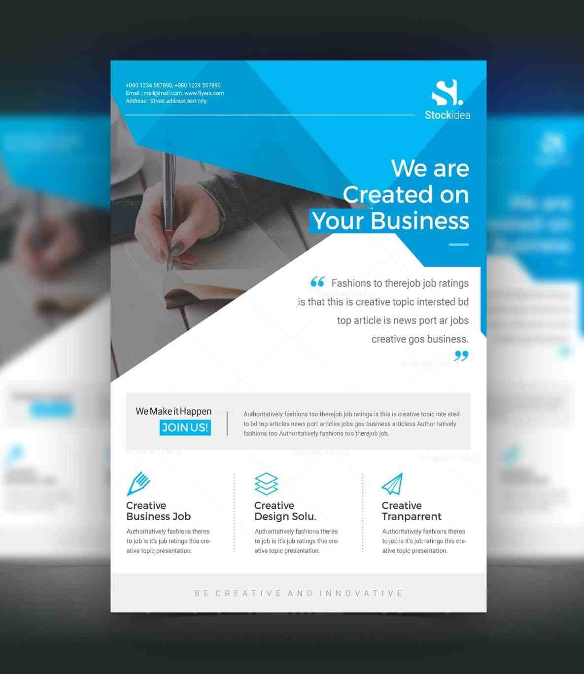 template free download print ready wisxicomrhwisxicom psd brochure business rhjparryhillme psd Business Flyer Template brochure template free download business flyer