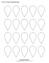 Shape Templates For Scrapbooking